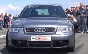 Audi S4 B5 драматизира света с 1200 к.с. Има видео