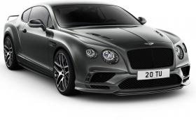 Bentley Continental Supersports: Най-бързата кола с 4 седалки в света, 336 км/ч и 710 коня. Галерия и инфо
