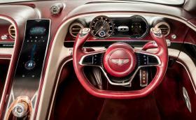 Bentley EXP 12 Speed 6e Concept е електрическо кабрио с изумителен интериор. Галерия и инфо