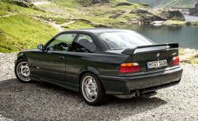 BMW E36 M3 GT в British Racing Green #312 е кола мечта. Може да си купите добро за 70 хил. евро