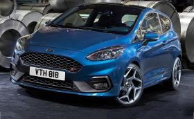 Това е новият Ford Fiesta ST. Изглежда супер, мощността е 200 к.с., а моторът 1,5 с... три цилиндъра. Галерия и инфо