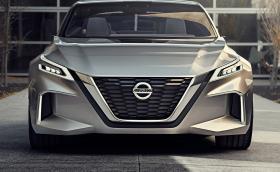 """Nissan GT-R R36? Възможно ли е Vmotion 2.0 да ни демонстрира предница на новата """"Годзила""""? Галерия и инфо"""