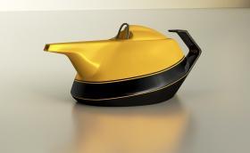Renault влиза в бизнеса с чайници. Първият е жълт и вдъхновен от F1