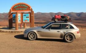 На 7755-километрова разходка до през Северния полярен кръг с 2001 BMW M Coupe. Галерия и инфо