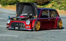 Най-откаченото Daihatsu, което някога сме виждали. Mira със 160 коня и части от Mazda MX-5. Галерия и инфо