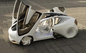 """""""Кинетична топлина"""" и врати в стил Lambo: Toyota i Concept. Галерия, видео и инфо"""