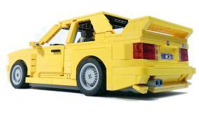 Искате ли това жълто BMW E30 M3 от Lego? И ние