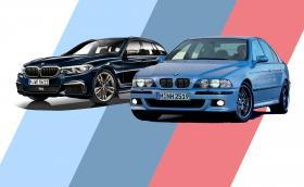 BMW M550d xDrive идва с 4 турбини и е мощно 400 коня, точно колкото E39 M5. Галерия и инфо