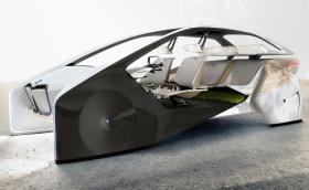 BMW показва интериора на бъдещето. Идва с библиотека, зелен мъх и жестово управление. Галерия