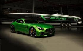 Marauder AMG: тази карбонова лодка с 3100 коня е вдъхновена от Mercedes-AMG GT R. Галерия и инфо