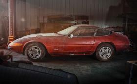 Едно единствено в света: 1969 Ferrari 365 GTB/4 Daytona Berlinetta Alloy by Scaglietti