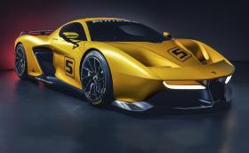 EF7 Vision Gran Turismo by Pininfarina е пистовата акула на Емерсон Фитипалди. Тежи 1 тон и разполага с 600-конен атмосферен V8