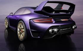 Gemballa Avalanche ще тормози човешката физика с 820 к.с. и 961 Нм. Базирана е на Porsche 911 Turbo. Галерия и инфо