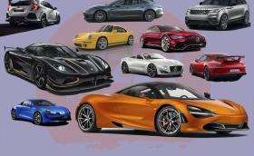 12 от най-готините коли представени в Женева. От Honda Civic Type R до Koenigsegg Agera RS 'Gryphon'.