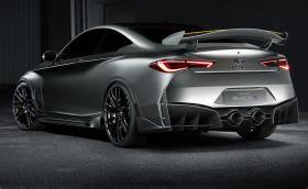 Infiniti Q60 Project Black S ще бори BMW M4 и компания. Мощност от над 500 коня и F1 техника. Галерия и инфо