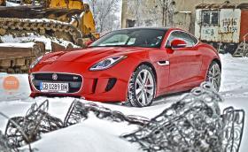 Добра зимна кола ли е Jaguar F-Type V6 S AWD? Галерия и видео