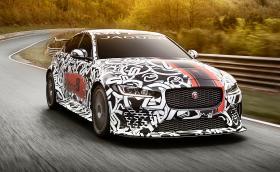 Jaguar обува най-мощния си мотор в най-малкия си седан: Jaguar XE SV Project 8 идва с 600 коня. Галерия и видео