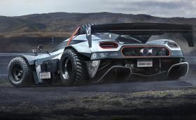 Koenigsegg One:1 излиза извън пътя с 1360 коня. Уж