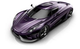 Koenigsegg Regera с лилав карбон в чест на Принс. Галерия и инфо