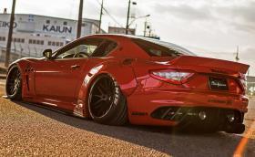 Liberty Walk Maserati GranTurismo за 15 хиляди евро. Заслужава ли си? Галерия и инфо