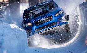 Марк Хигинс потроши своето Subaru WRX STI в улей за бобслей. Галерия и видеo