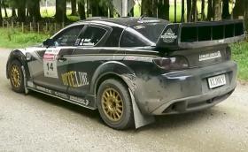 Вижте и чуйте тази ралиджийска Mazda RX-8. Задвижва се от три ротора и е мощна 370 коня