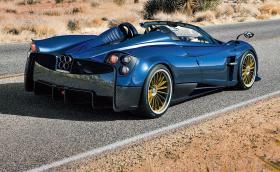 Pagani Huayra Roadster е мощно 764 к.с. произведение на изкуството. Струва 4,5 млн. лева и е прекрасна. Галерия и инфо