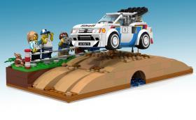 Peugeot 205 Turbo 16 Evolution 2 Group B от Lego. Ударете един глас за да го направят. Галерия и инфо
