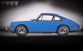 Историята на Porsche 911 в минута и половина. Видео