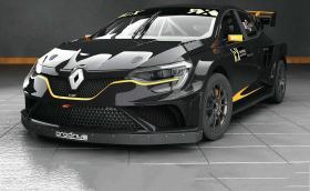Това Renault Megane RX е мощно 660 коня и вдига сто за около 2 секунди. Приятен автомобил. Галерия и инфо