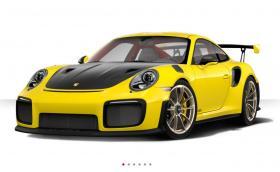 Това е нашето Porsche 911 GT2 RS. Конфигурирахме го в Racing Yellow и Clubsport пакет, излезе ни 479 866 лв.