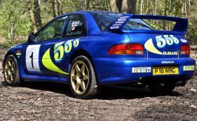 Subaru Impreza тествано от Колин Макрей, продадено за 230 000 паунда