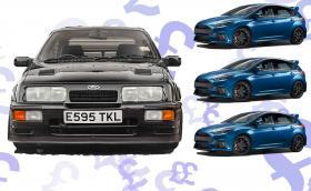 Този Ford Sierra Cosworth RS500 струва 122 хил. паунда. Колкото три нови Focus RS