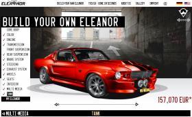 V8 Werk ни предлагат да си конфигурираме Ford Mustang GT500 'Eleanor'. Цената започва от 89 900 евро