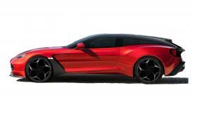 Aston и Zagato направиха красиво комби с 600-конен V12 и задно. Окей, Shooting Brake, което е същото