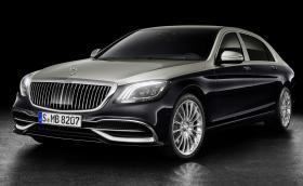 Новият Maybach на Mercedes връща двуцветната комбинация. S 650 вдига сто за 4,7