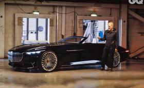 "Merc Vision Maybach 6 Cabriolet е още по-изумителен ""на живо"". Видео"
