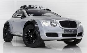 Bentley Conti GT, превърнато в 560-конен офроудър? Точно така
