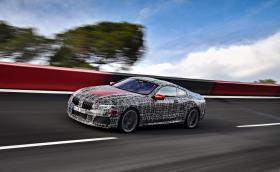 Последни високоскоростни тестове на BMW Серия 8