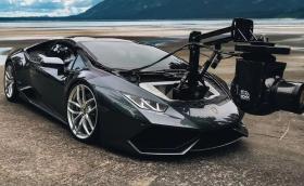 Lamborghini Huracam е много бърза камера на колела
