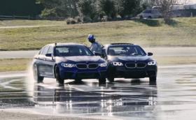 Обещаното видео: BMW M5 срина дрифт рекорда и зареди пет пъти в движение