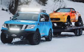 Nissan събра абсурдна двойка за сняг и лед
