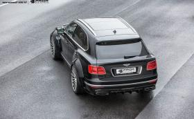 Prior Design Bentley Bentayga вдига 300 км/ч с финес