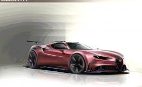 Alfa 4C Concept е фантастична идея за наследник на 8C Competizione