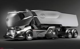 Това електрическо автономно Audi е най-готиният влекач, който ще видите тази седмица