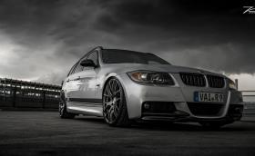 BMW E91 с тунинг за 1000 евро изглежда изненадващо добре