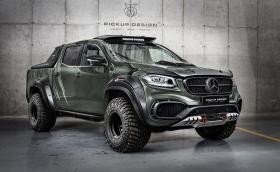 Carlex Design Exy OFF-ROAD е брутализирано-луксозен Mercedes X-Class