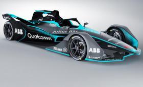 Това е новият болид за Formula E. Колата е с двойно по-голям пробег