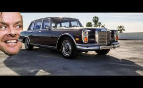 Този 1972 Mercedes-Benz 600 Grosser е бил на Джак Никълсън