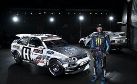 """Новият Ford Escort RS Cosworth на Кен Блок е готов. Под """"нов"""" имаме предвид 1991 година…"""